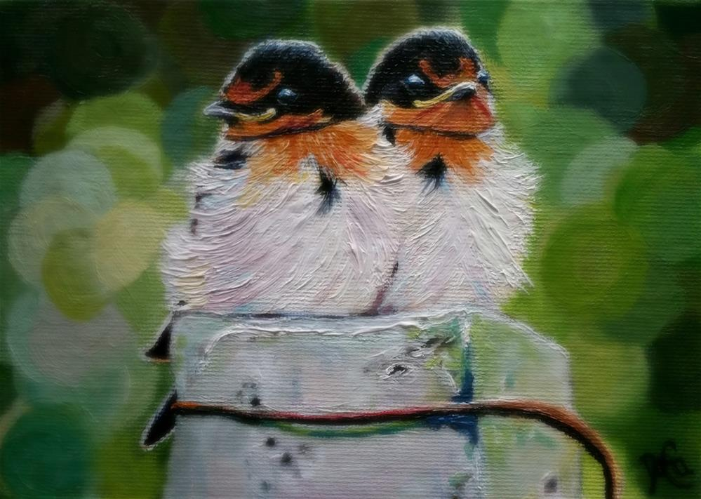 """BFF"" original fine art by Dana C"