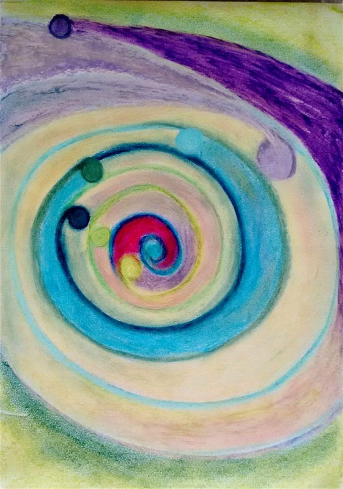 """""""From Inside Out"""" original fine art by Adéla Svobodová"""