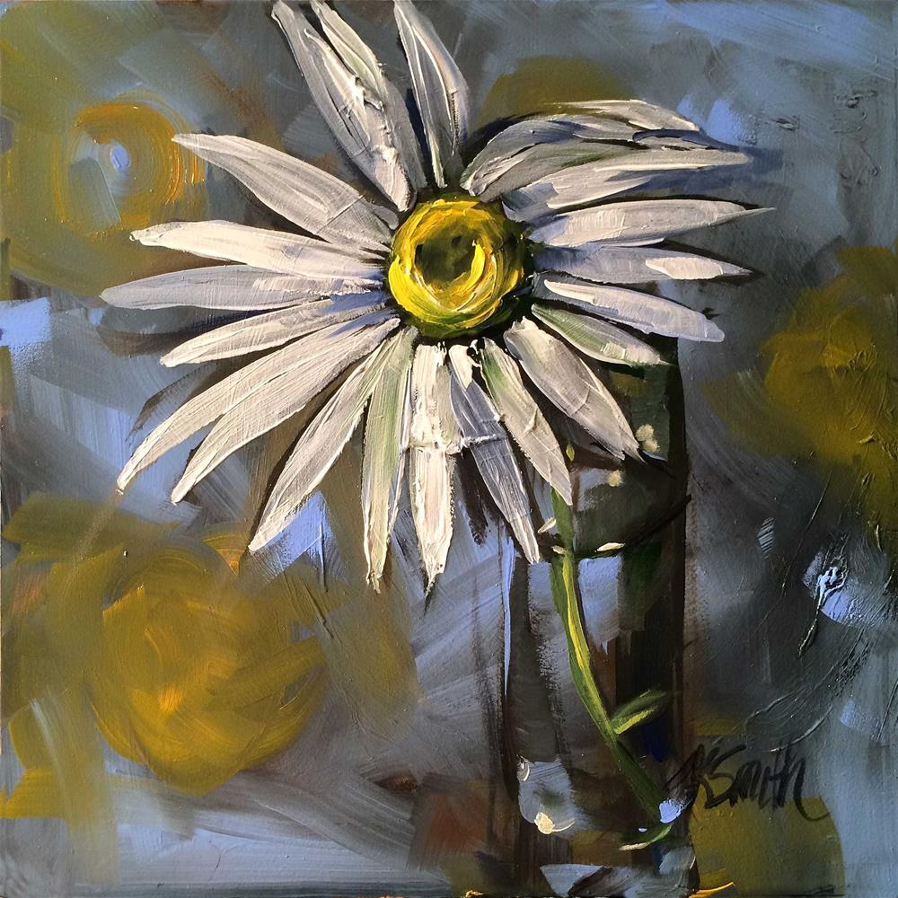 """daisy too"" original fine art by Kim Smith"