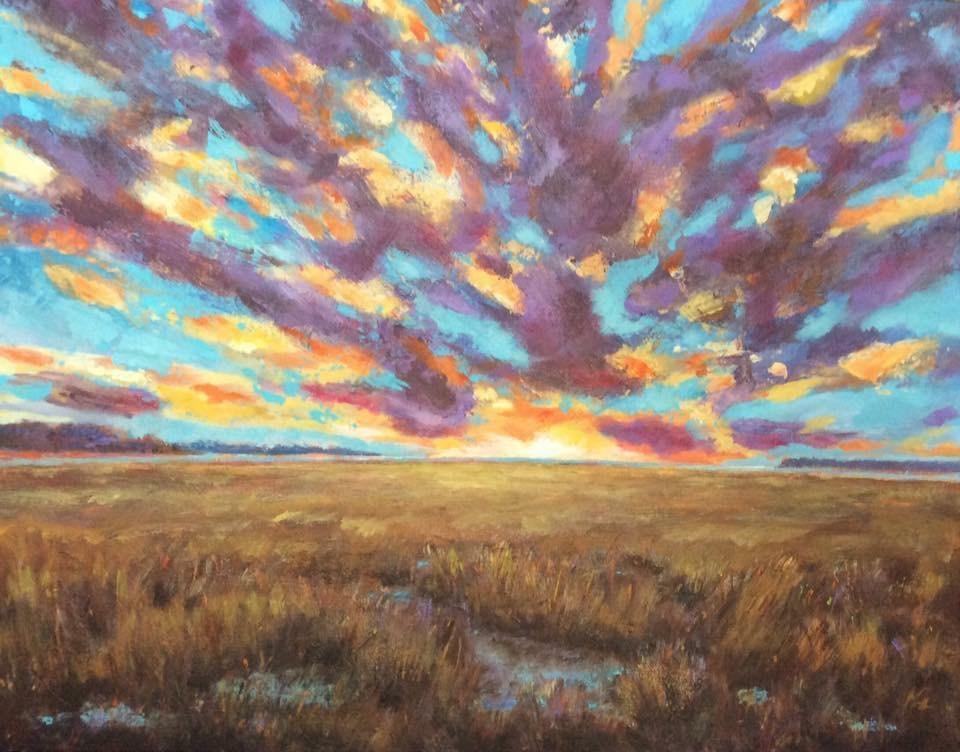 """Rise"" original fine art by Kipling Collins"
