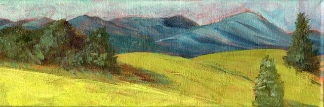 """Day 26 in Leslie Saeta's Challenge"" original fine art by Sue Furrow"