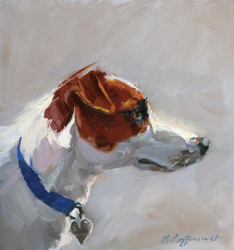"""""""Jack Russell"""" original fine art by B. Rex Stewart"""