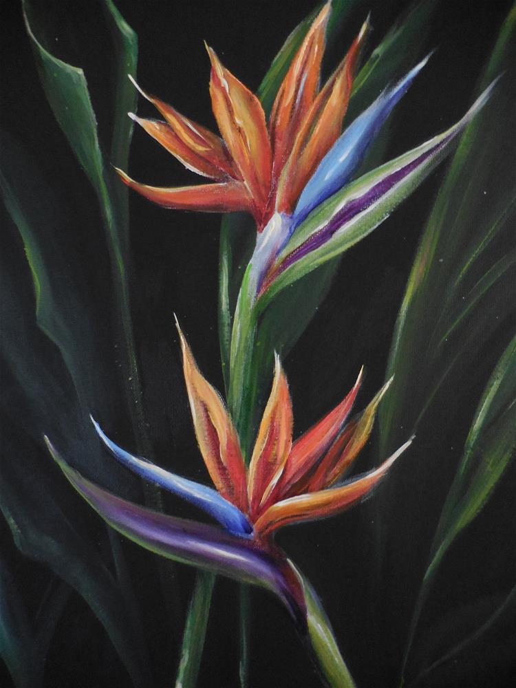 """Memories of Hawaii"" original fine art by Terri Nicholson"