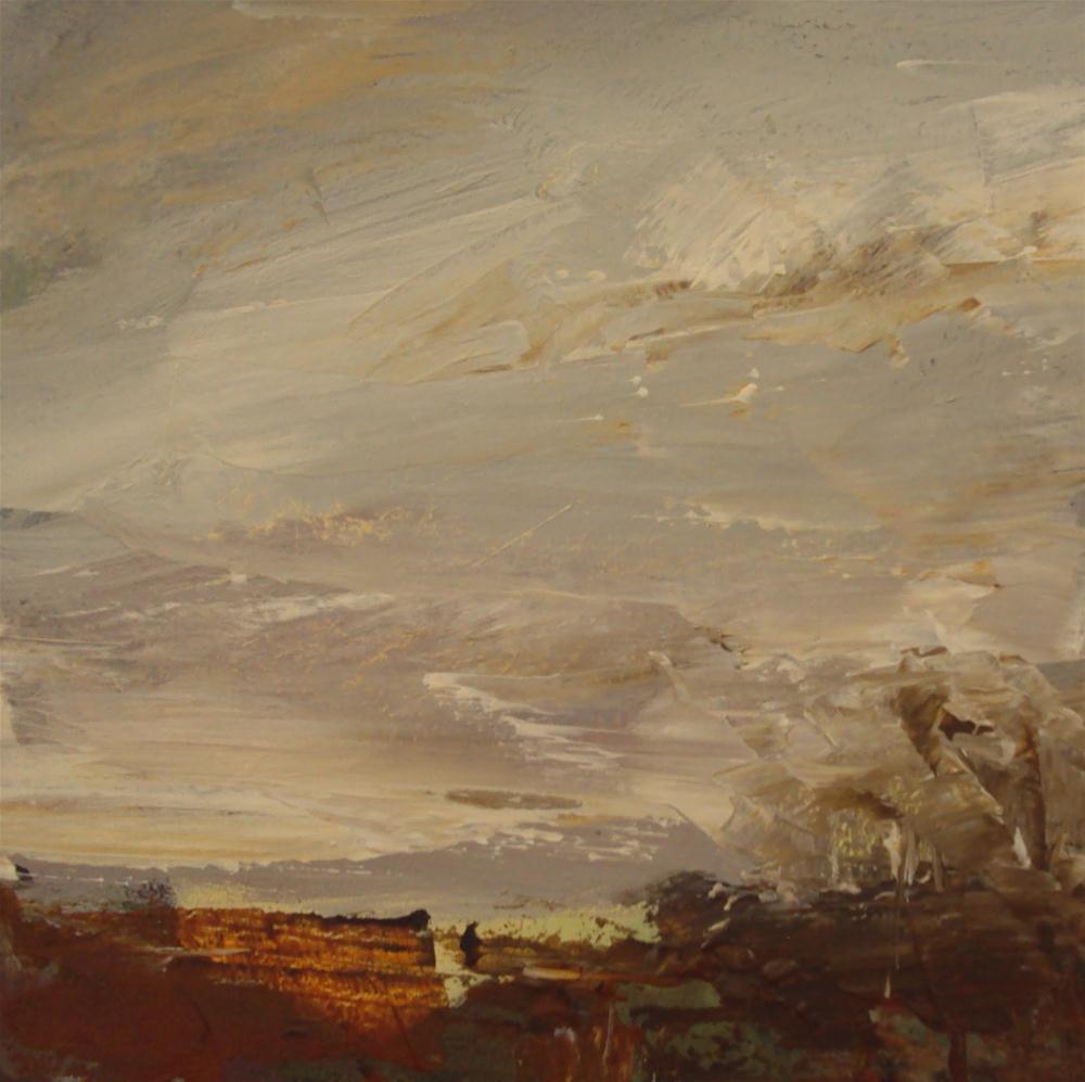 """Sunset"" original fine art by Parastoo Ganjei"