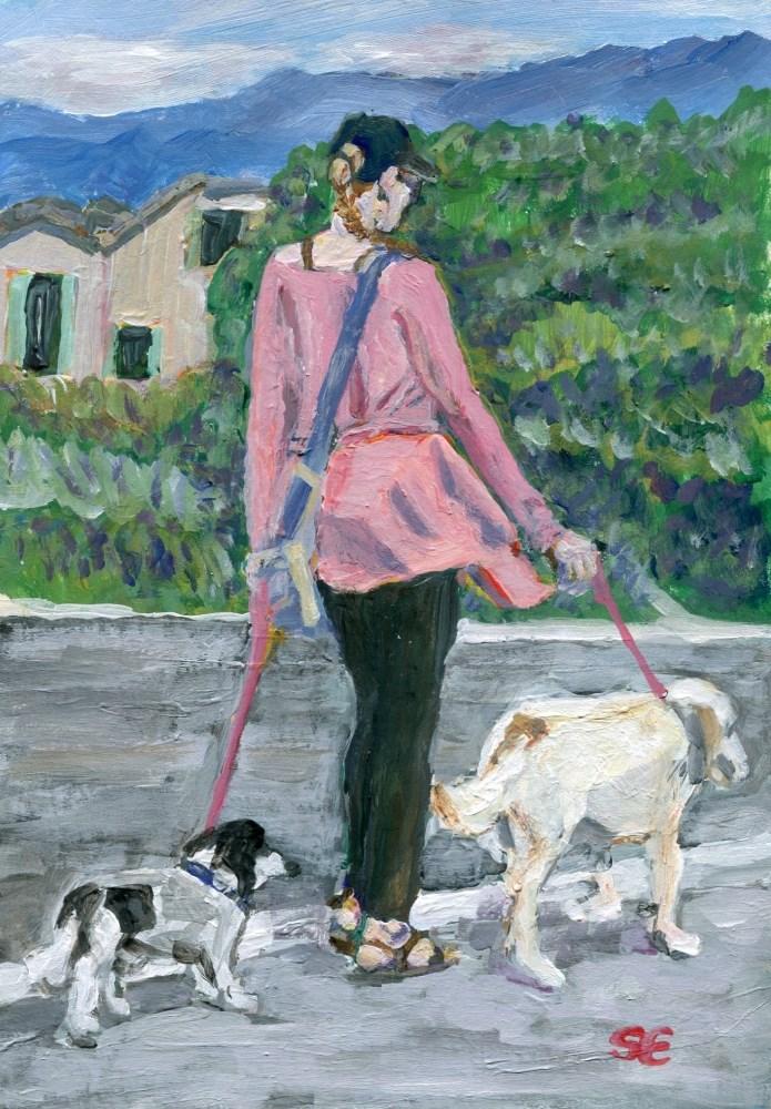 """Companians"" original fine art by Stanley Epperson"