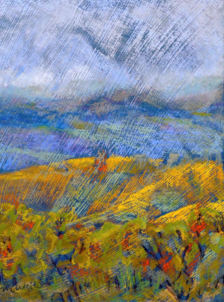 """Dundee Fall"" original fine art by Mary Weil"