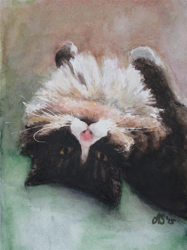 """Siesta"" original fine art by Anna Starkova"