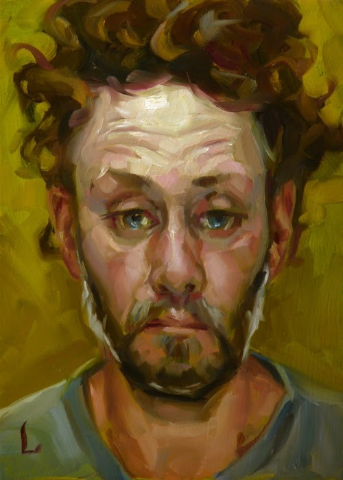 """Blowzy"" original fine art by John Larriva"