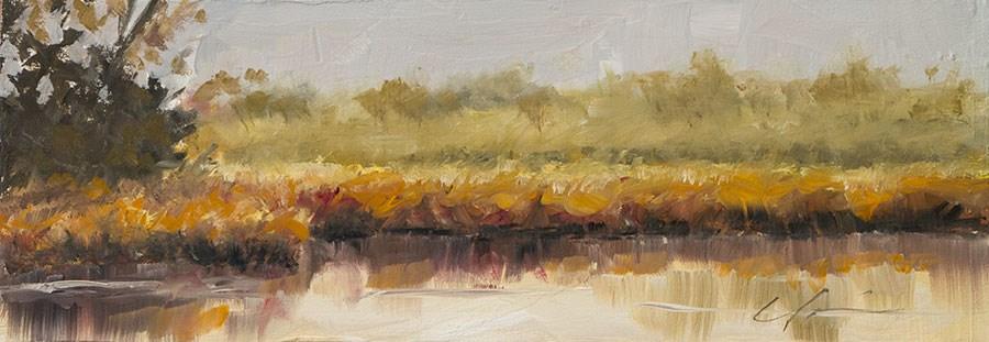 """""""Landscape Challenge #25"""" original fine art by Clair Hartmann"""