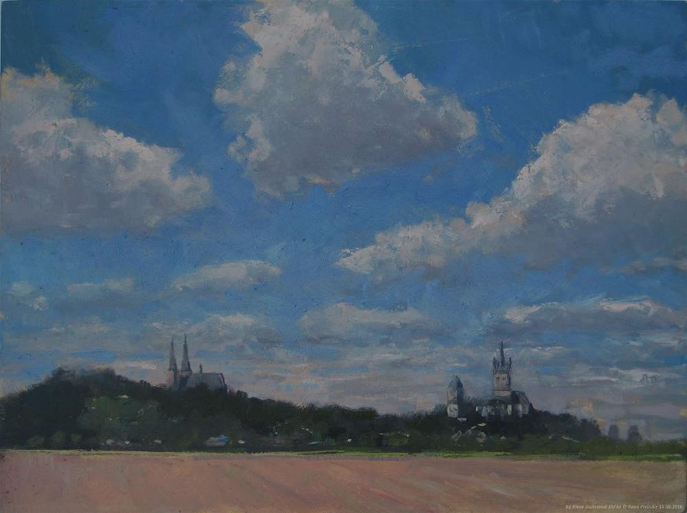 """""""Near Kleve. Germany."""" original fine art by René PleinAir"""