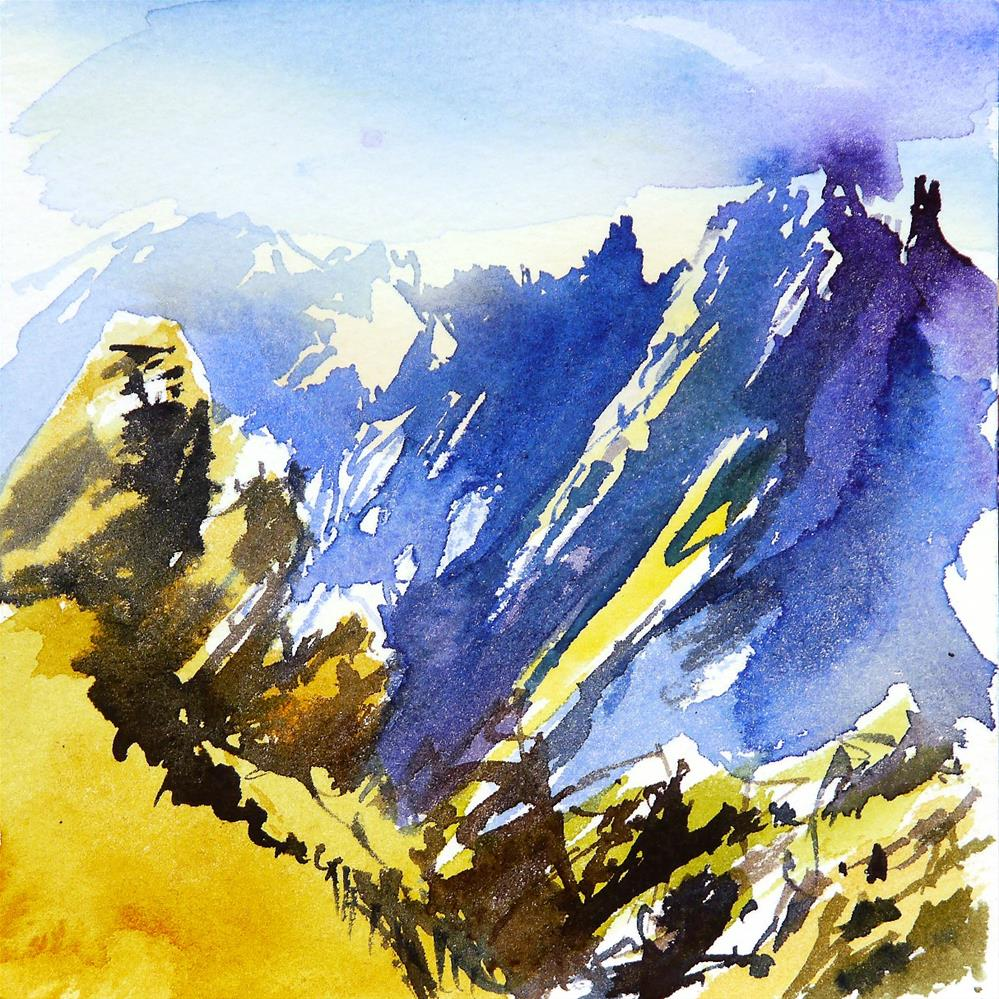 """tatra mountains"" original fine art by Beata Musial-Tomaszewska"
