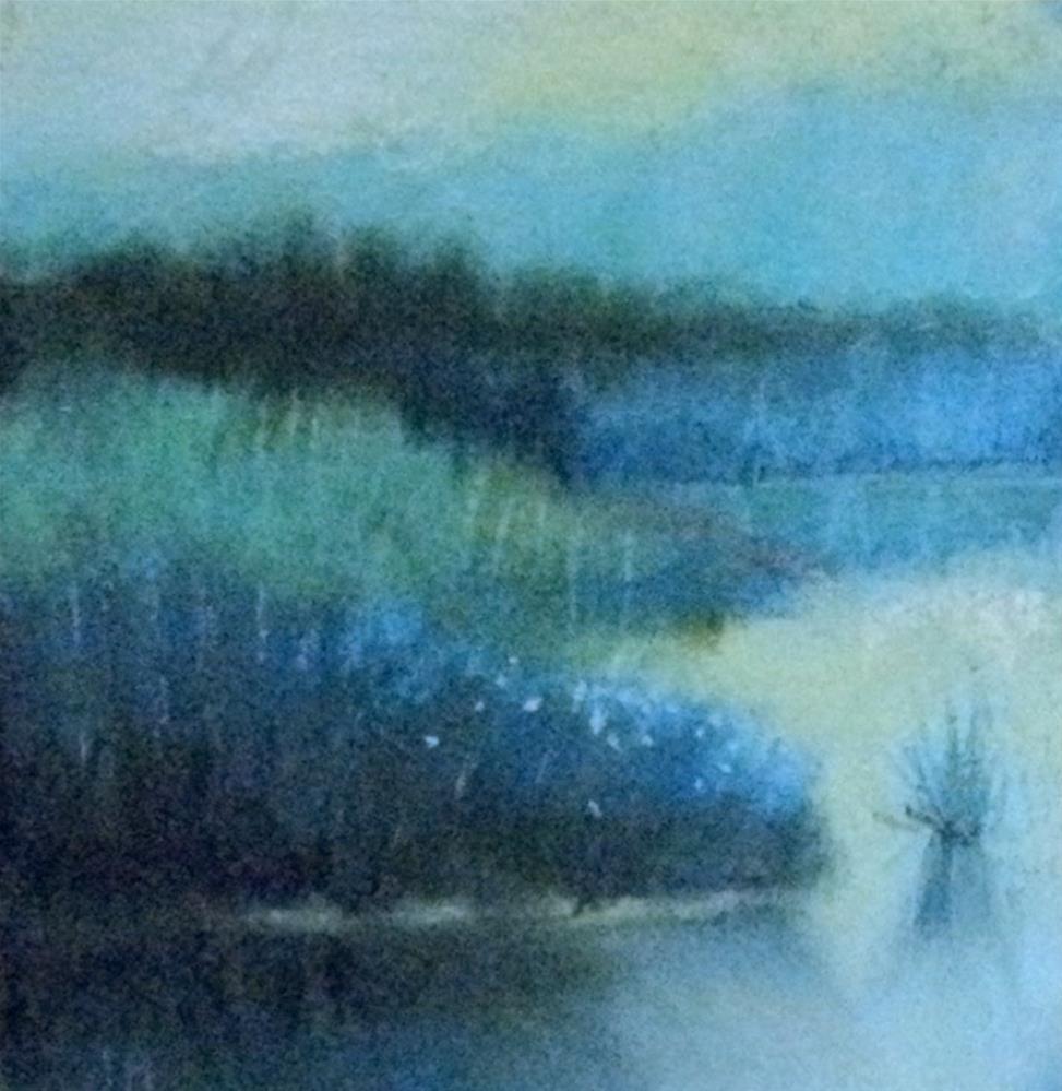 """Calkinstown Preserve #1"" original fine art by Judy Albright"