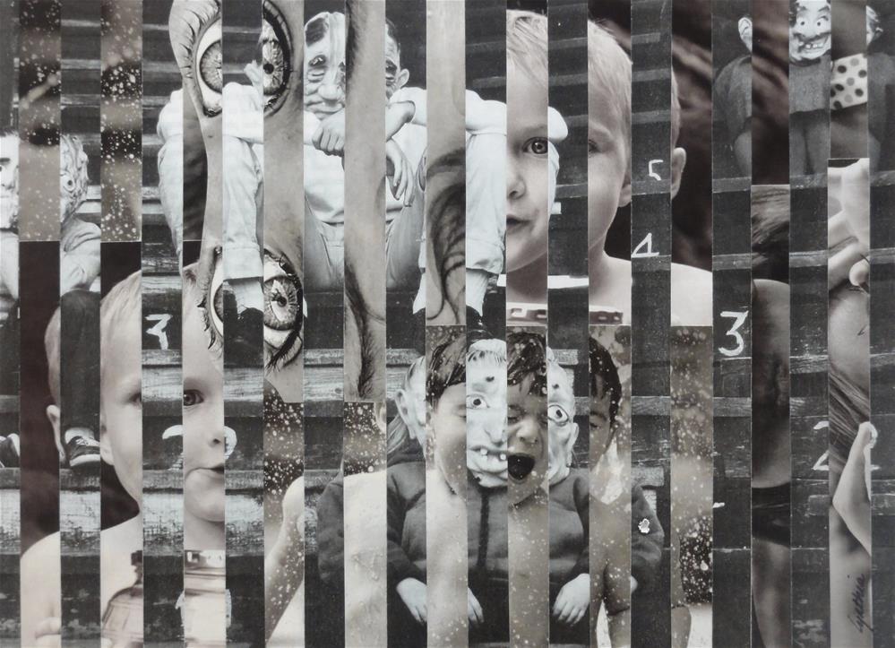 """""""Masks"""" original fine art by Cynthia Frigon"""