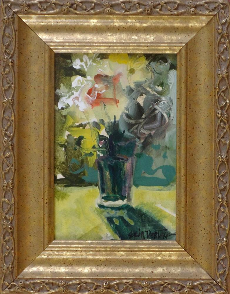 """""""Blossoms Aflame"""" original fine art by Erin Dertner"""