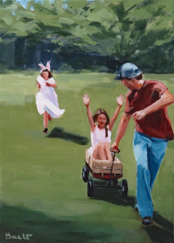 """""""Easter Fun"""" original fine art by Shari Buelt"""