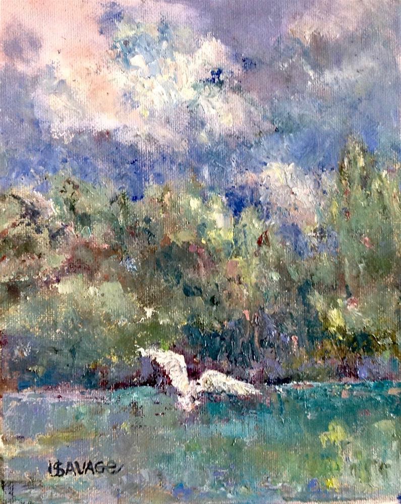 """Hot Sumer Days"" original fine art by Judy Usavage"