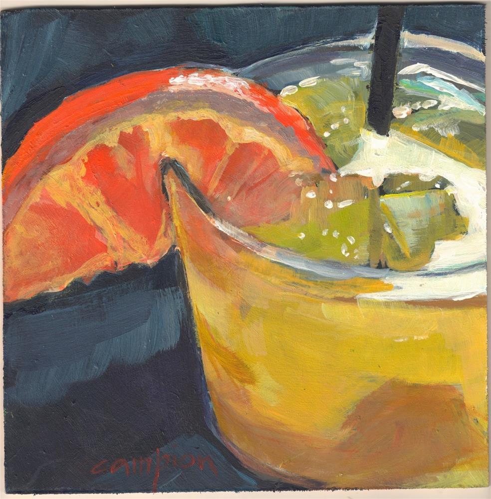 """""""349 Screwdriver"""" original fine art by Diane Campion"""