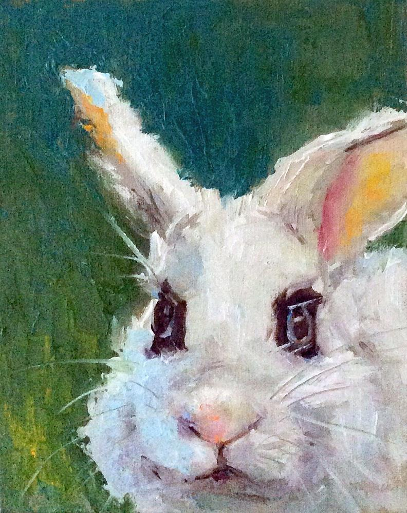 """Easter Portrait"" original fine art by Marcia Hodges"