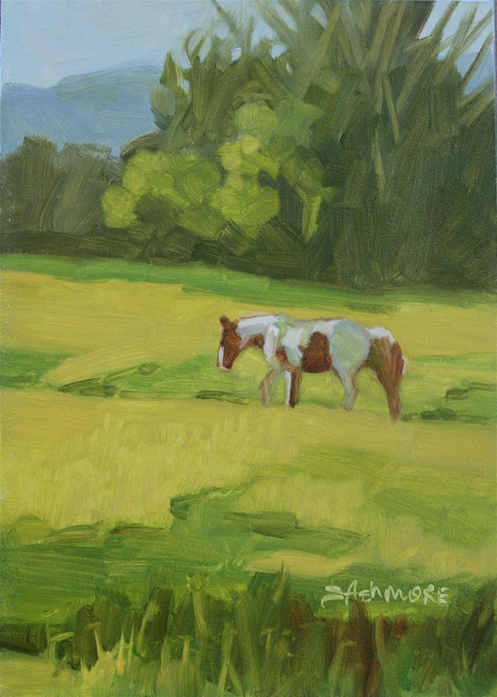 """Early Morn"" original fine art by Susan Ashmore"