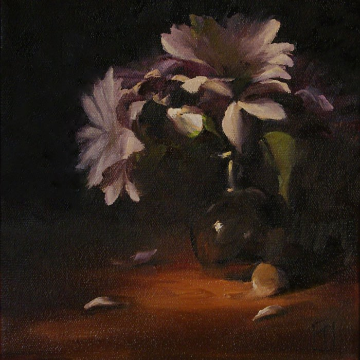 """Daisies"" original fine art by Lori Twiggs"