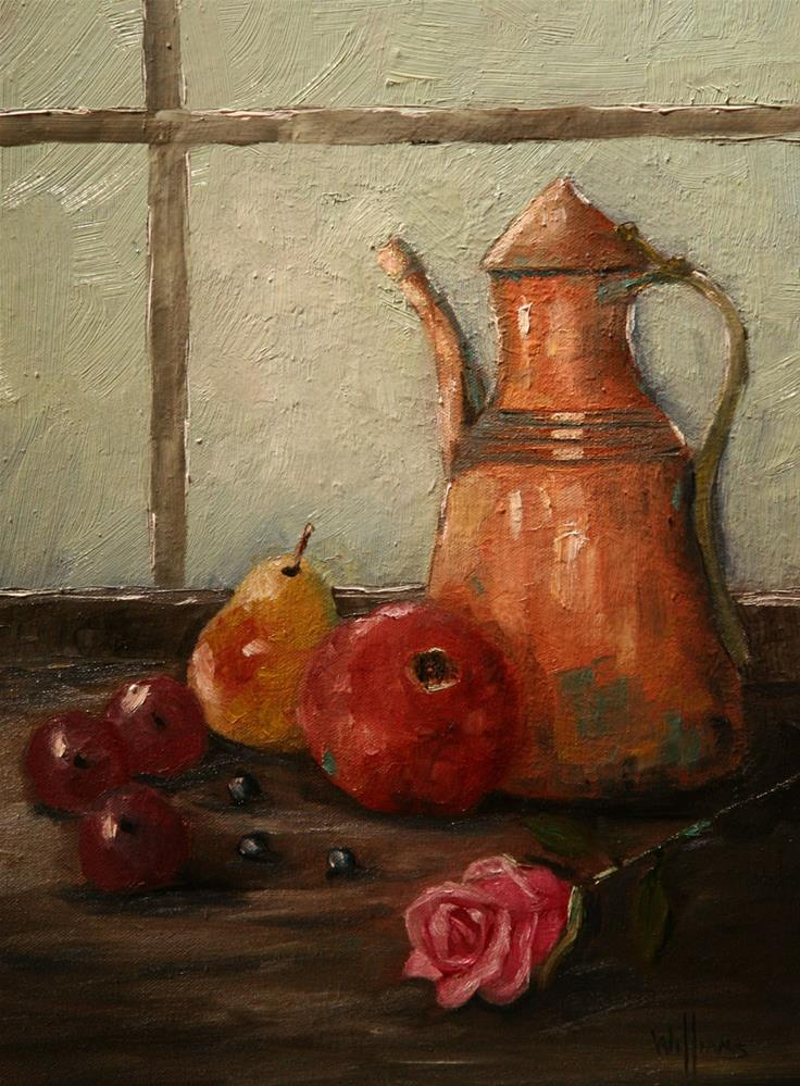 """Kopper Kettle"" original fine art by Sunny Williams"