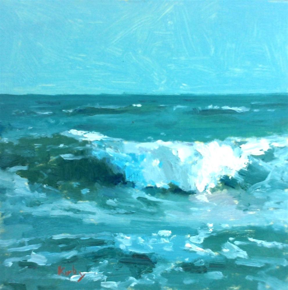 """Afternoon Break"" original fine art by Randall Cogburn"