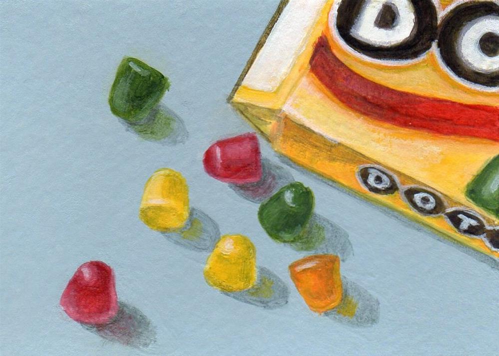 """Dot to Dot"" original fine art by Debbie Shirley"