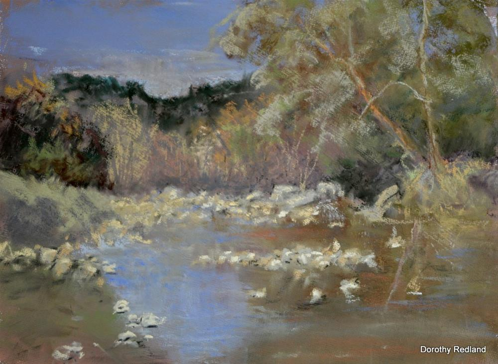 """PEACE ALONG THE FRIO"" original fine art by Dorothy Redland"