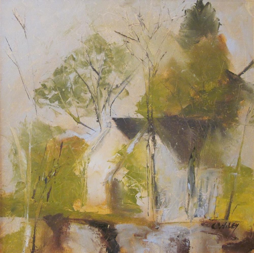"""Boothbay House"" original fine art by Carol Wiley"