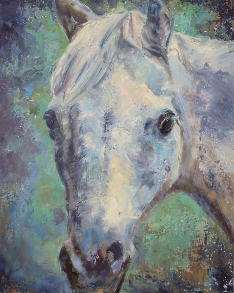 """Jewell"" original fine art by Carol DeMumbrum"