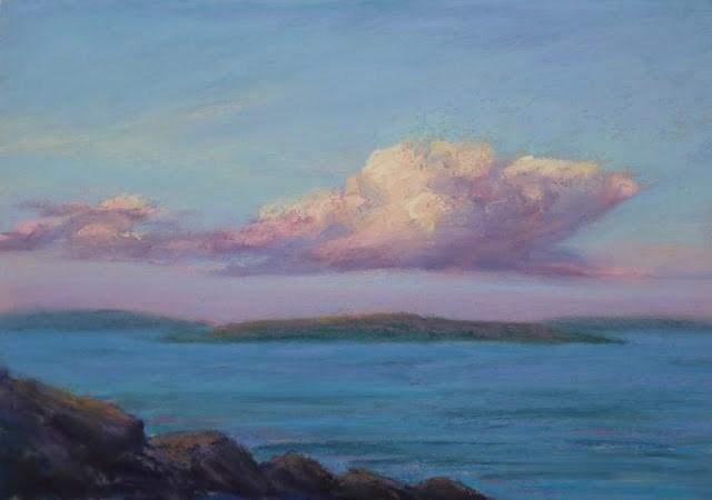 """Sun-lit"" original fine art by Sharon Lewis"