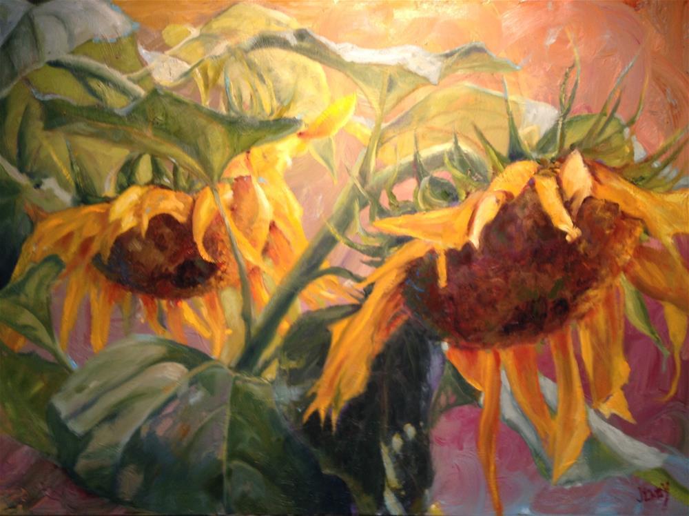 """Prayers of Flowers"" original fine art by Jenny Buckner"