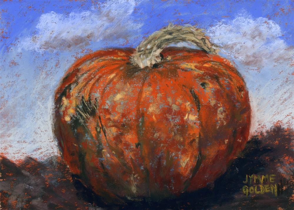 """Scarred Squash"" original fine art by Jymme Golden"