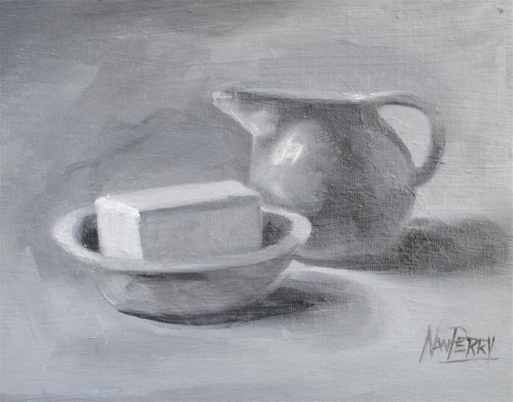 """Value Study "" original fine art by Nan Perry"