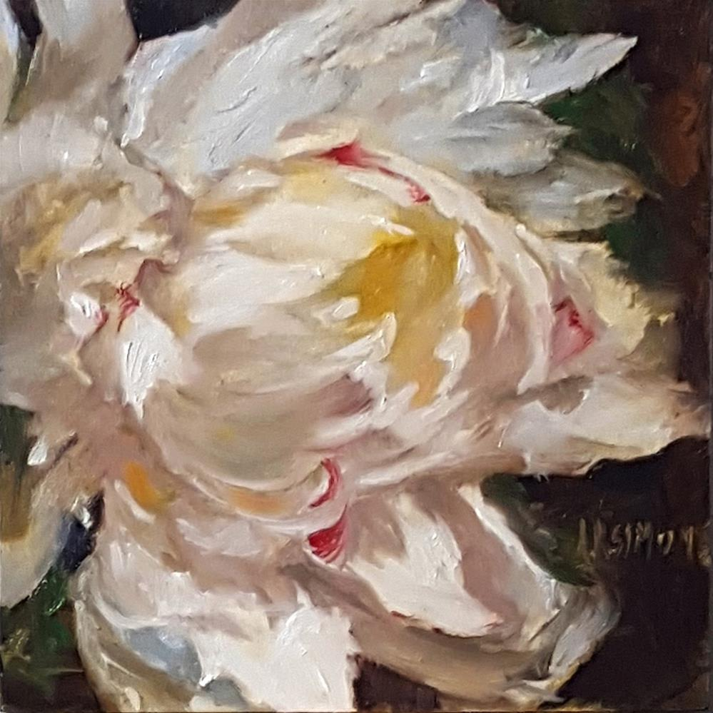 """Paeonia Petal Overload"" original fine art by A.K. Simon"
