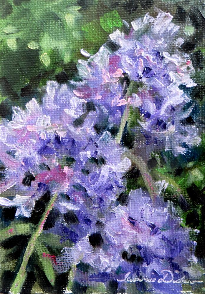 """Evening Phlox"" original fine art by Tammie Dickerson"