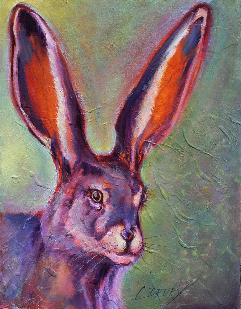 """Jack"" original fine art by Colleen Drury"