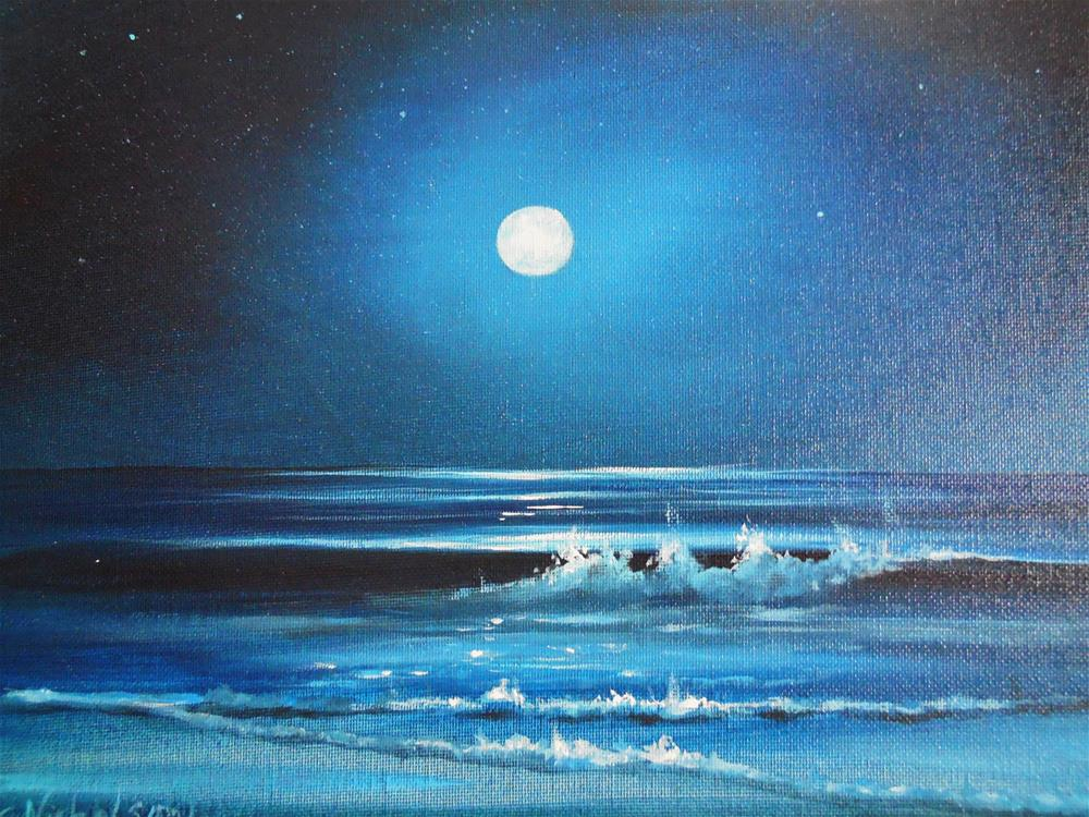 """Nocturne"" original fine art by Terri Nicholson"