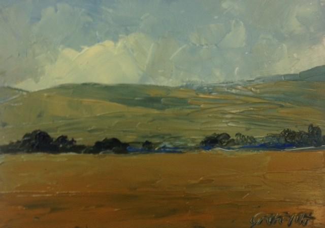 """""""The Front Range"""" original fine art by Bonnie Griffith"""