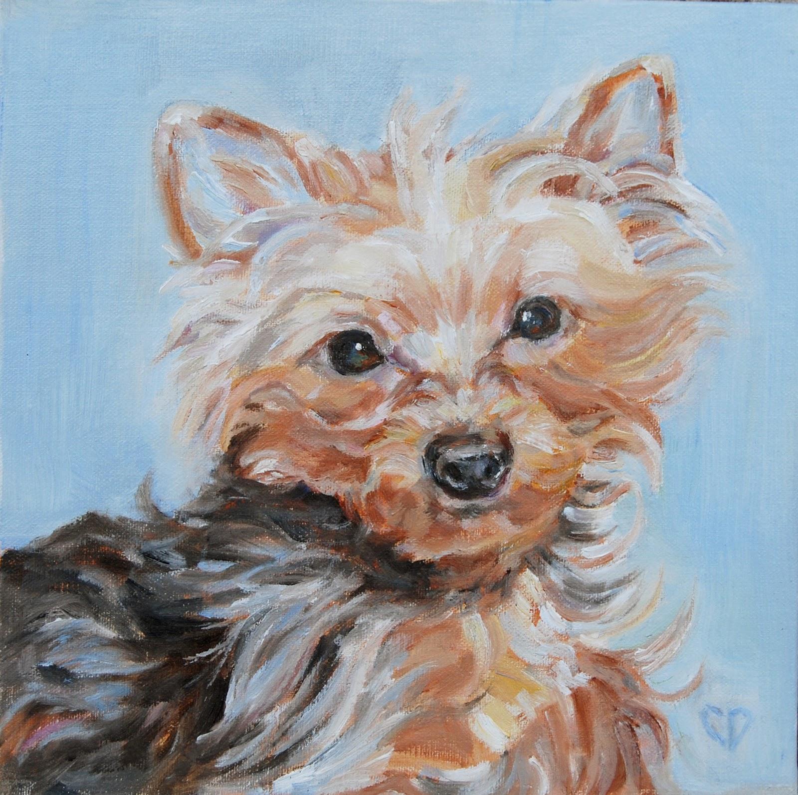 """Mayzie"" original fine art by Carol DeMumbrum"