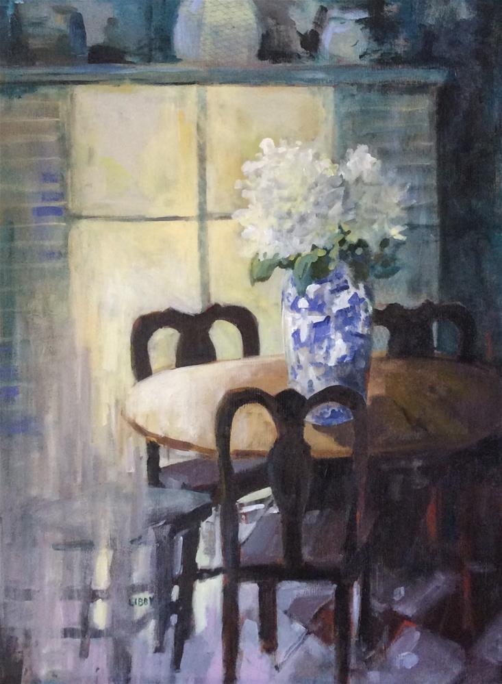 """Mystery"" original fine art by Libby Anderson"