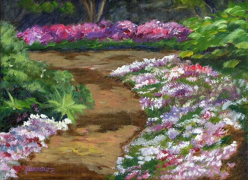 """Leslie S. 30 Day Challenge starts tomorrow"" original fine art by Sue Furrow"