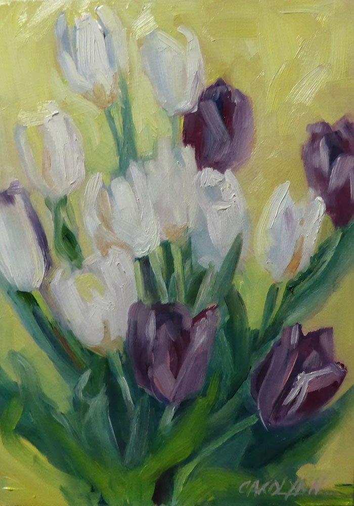 """""""Spring Has Sprung!"""" original fine art by Carolynn Doan"""