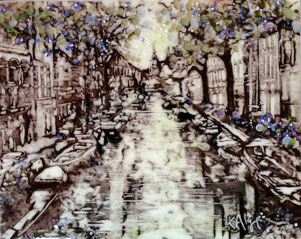 """Amsterdam"" original fine art by Kelly Alge"