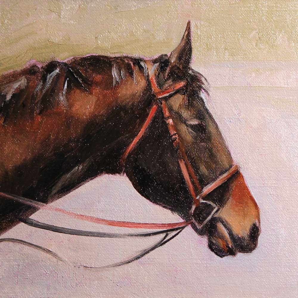 """maddie"" original fine art by Kim Smith"