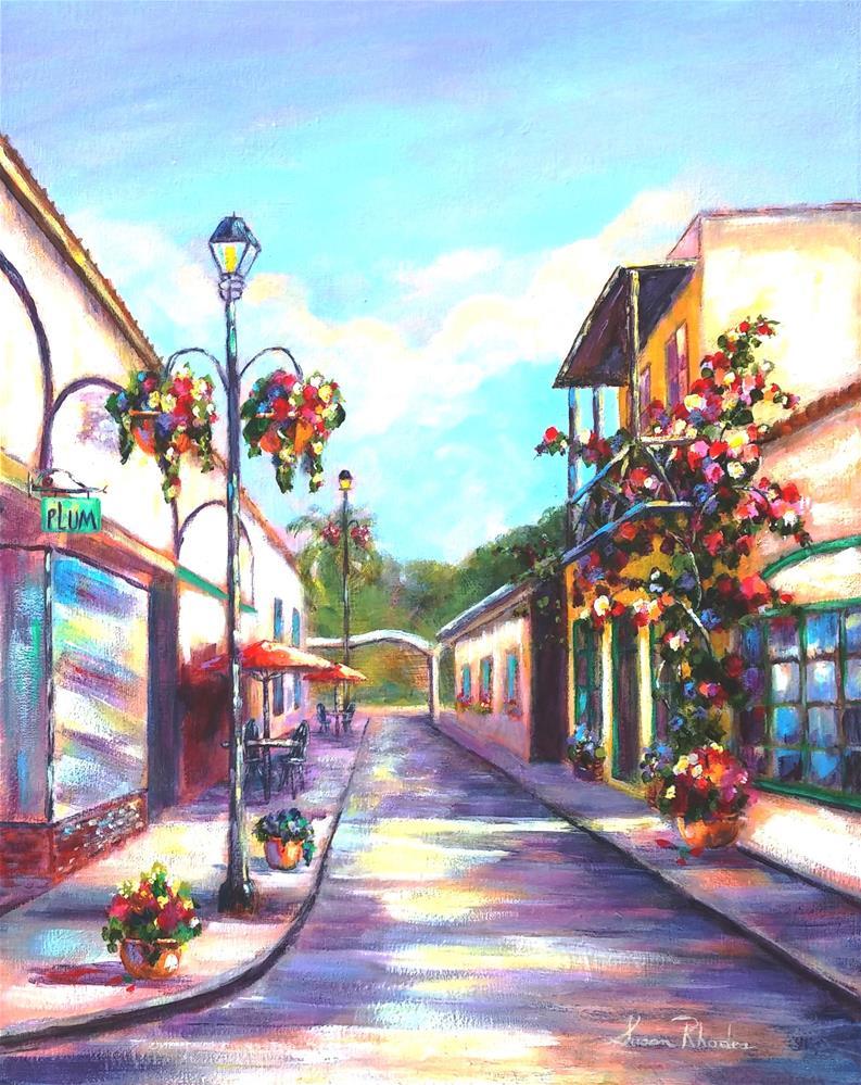 """Quiet Time on Aviles Street"" original fine art by Susan Rhodes"