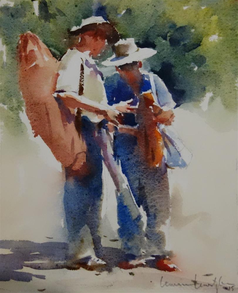 """Loaded Up"" original fine art by Lorraine Lewitzka"