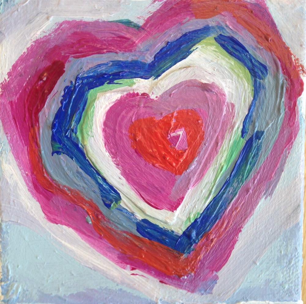 """Art Lover #3"" original fine art by barbara quast"