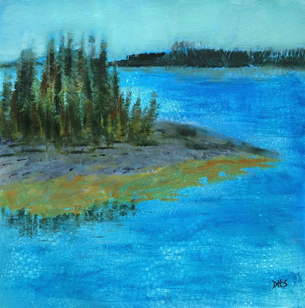 """Earlybird Stilliness, Feltzen South"" original fine art by Dotty  Seiter"