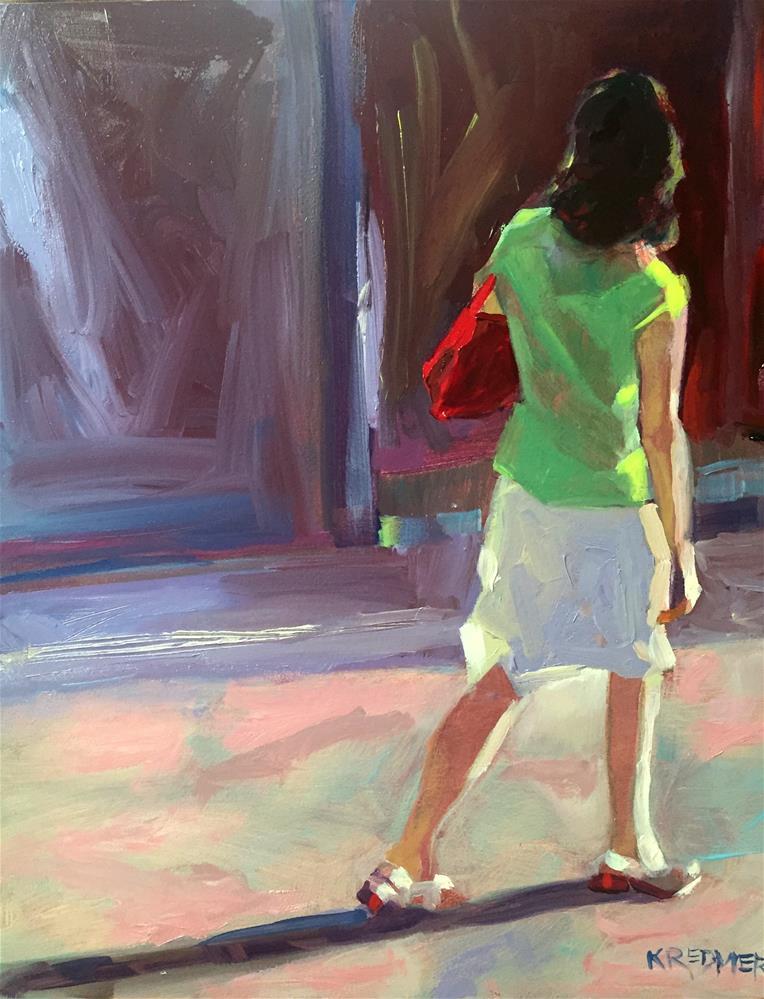 """28 Calle Arenal"" original fine art by Kathleen Redmer"